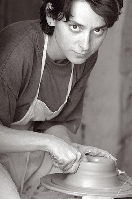 Sipos Ágnes kerámiakészítés